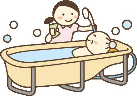 清拭・入浴等清潔援助など